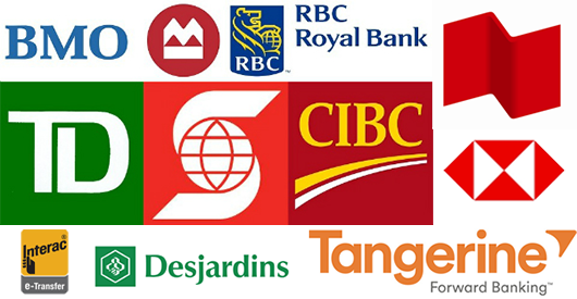 e-Transfer payment service banks